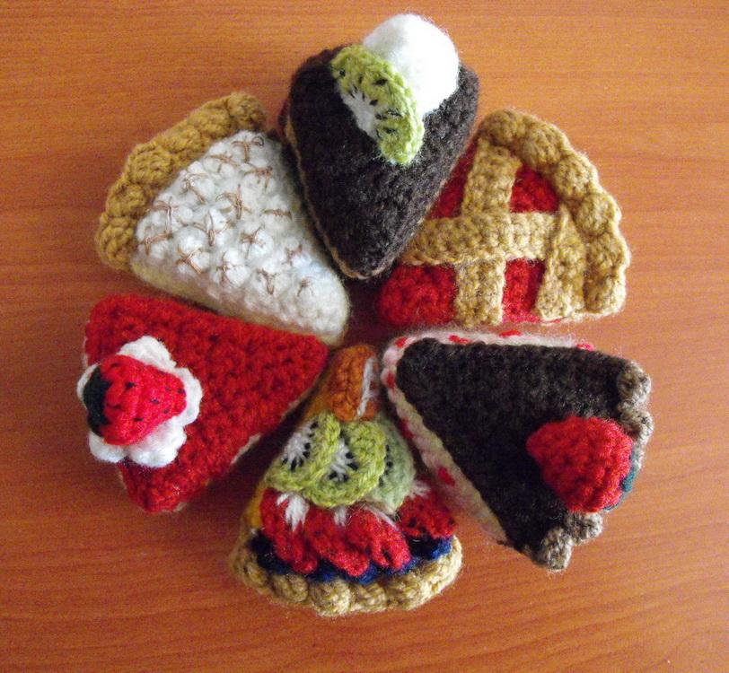 Crochet, etc. on Pinterest Crochet Fruit, Crochet Cake ...