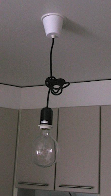 Hyypiön elämää Keittiön lamppu