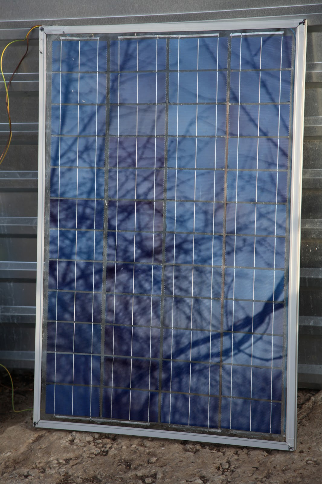 В домашних условиях солнечная батарея