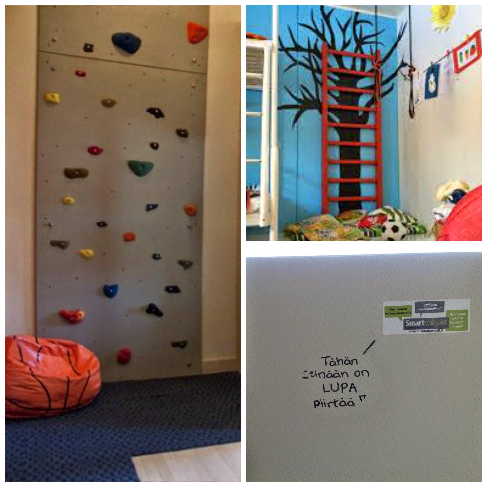 Ota lastenhuoneen seinät hyötykäyttöön
