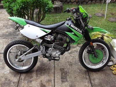Gambar Modifikasi GL Pro Trail Motor Drag Race Motor-Cross