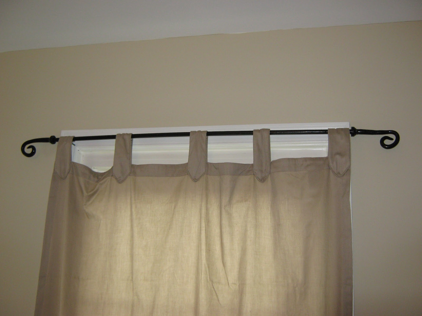 fake it frugal pottery barn cast iron curtain rods