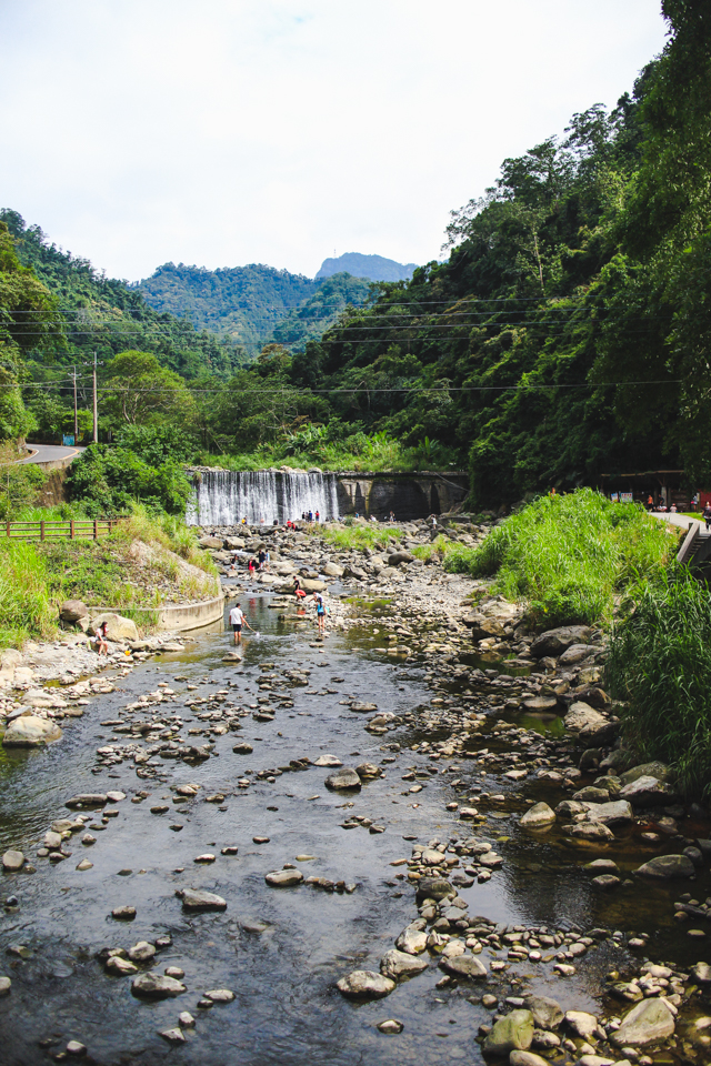 Beipu Cold Springs | refreshing water flowing through the mountains outside Hsinchu