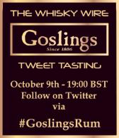 Goslings Rum Tweet Tasting