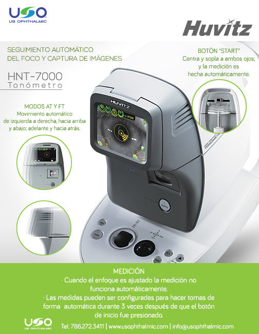 Tonometro HNT-7000 US Ophthalmic