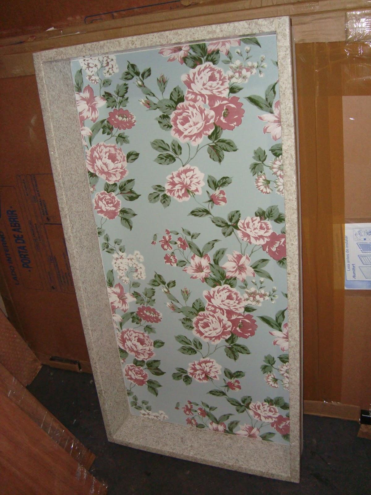 Esse é o do banheiro da suíte. Fizemos ele com o granito Branco  #6A3E24 1200 1600