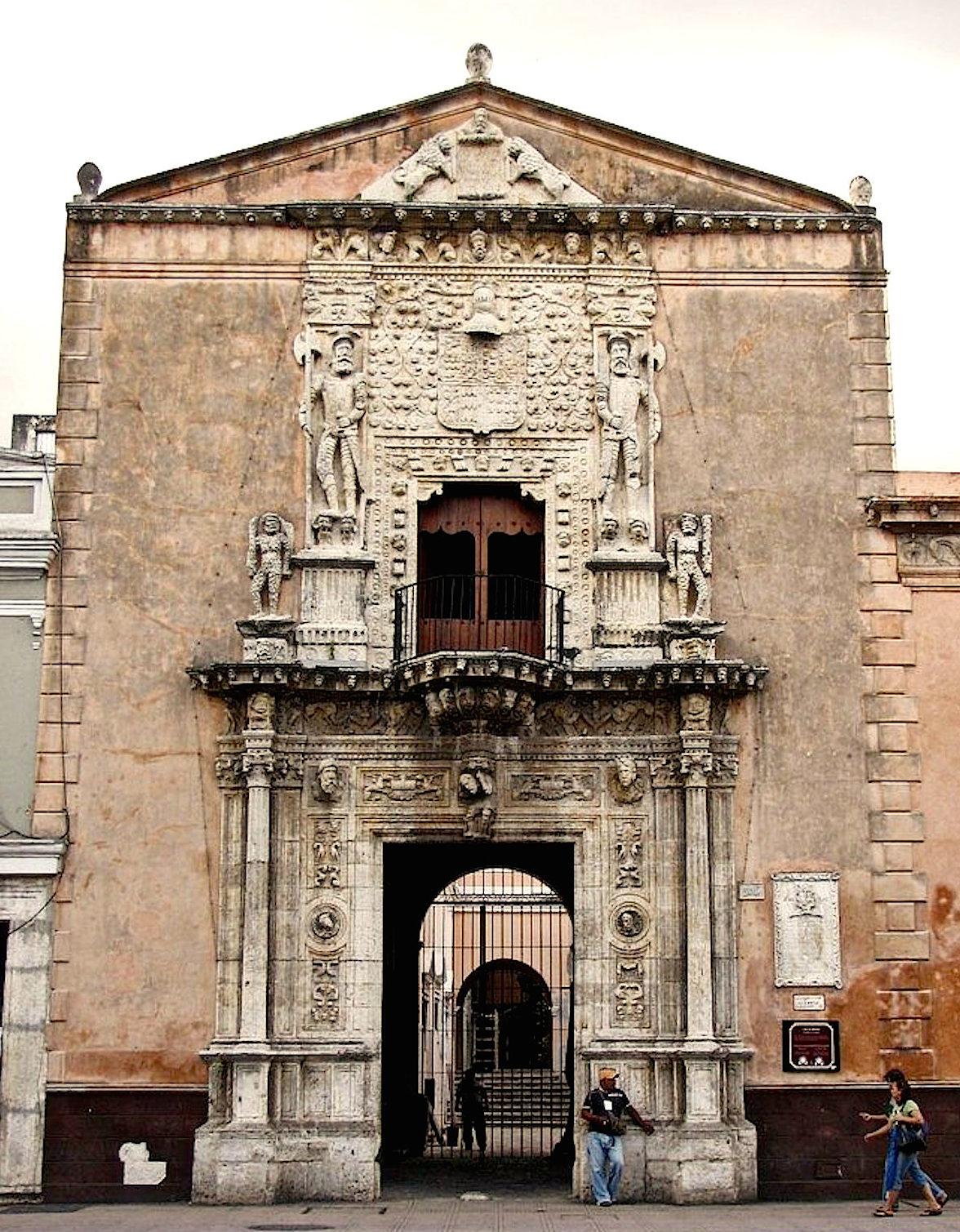colonialmexico: Mérida: La Casa de Montejo