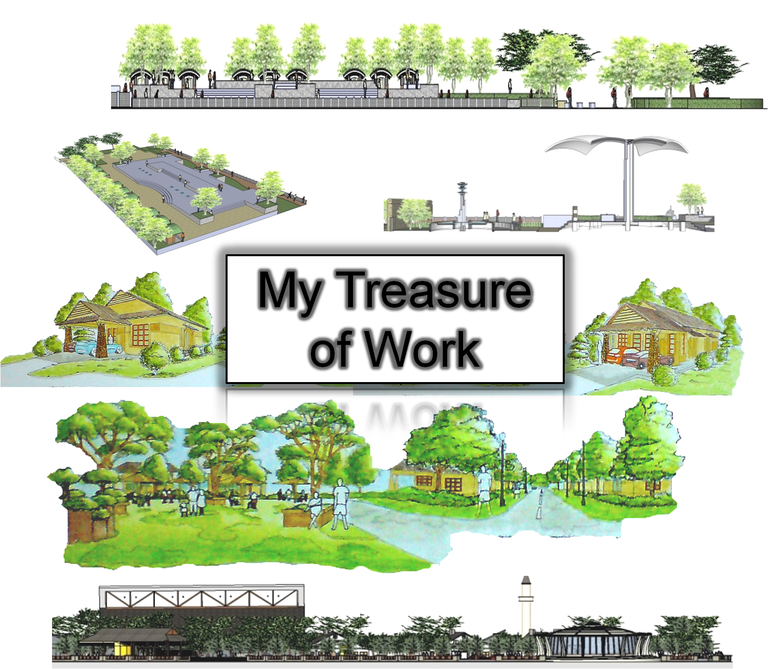 Me and landscape architect my landscape designer portfolio for Garden design portfolio