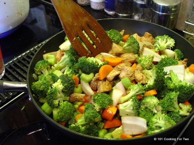 Easy Chicken Stir Fry from 101 Cooking For Two
