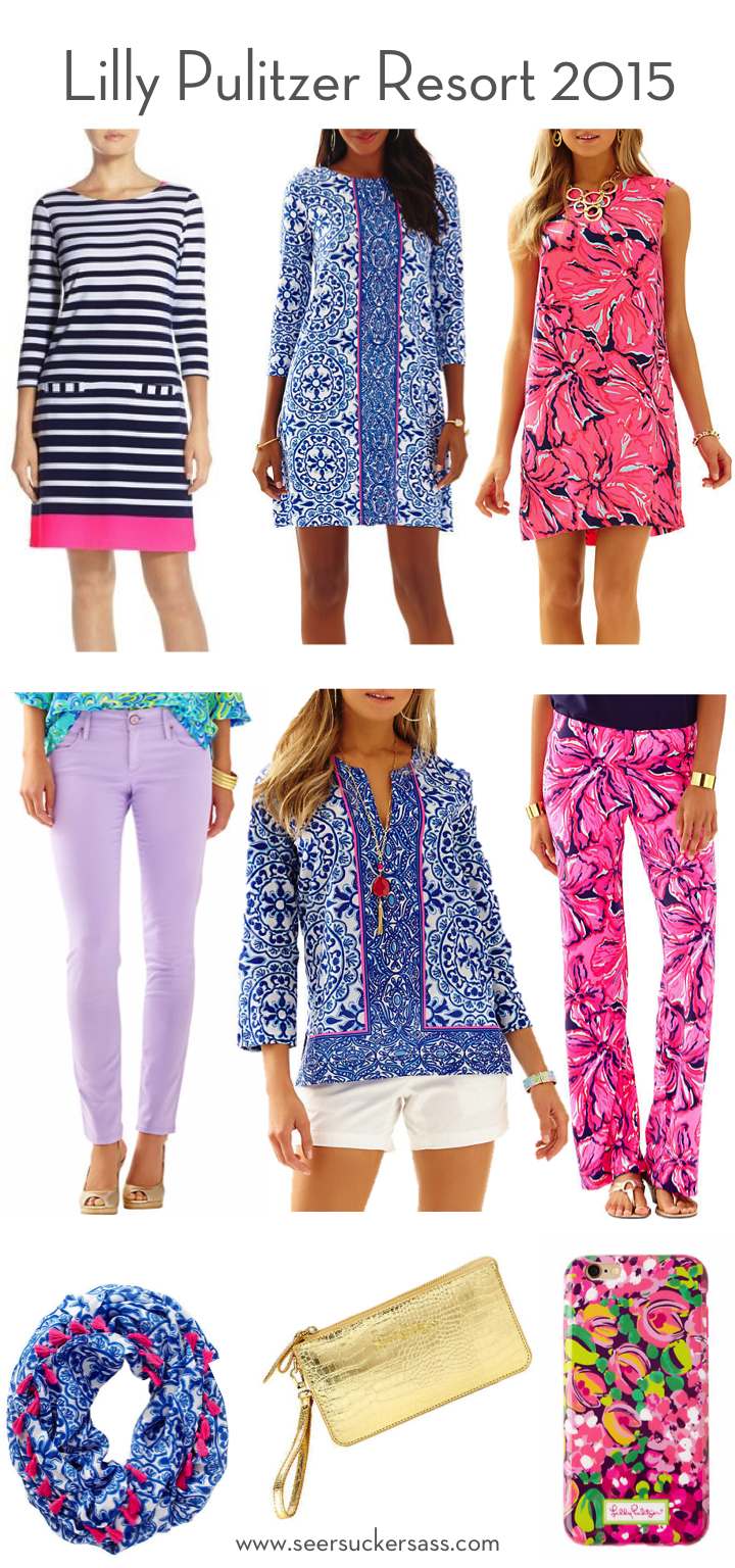 Lilly Pulitzer Resort 2015 Collection