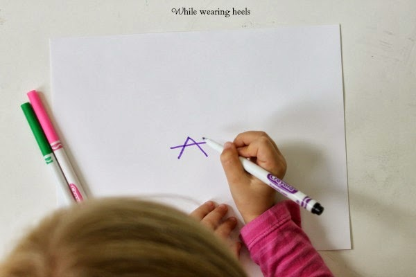how to teach a child to draw representationally