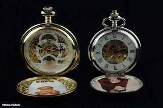 Fotografia relógios de bolso