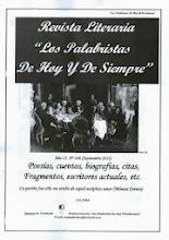 """Portada de la Revista Literaria """"Los Palabristas De Hoy Y De Siempre"""""""
