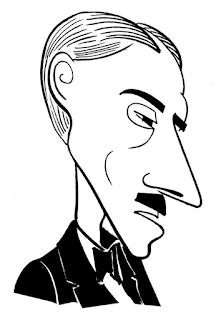 Charles Demuth caricature by Ian Davy Brown