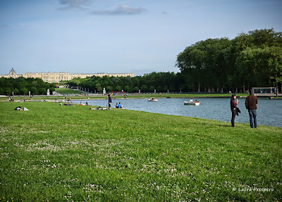Grand Canal - Château de Versailles © Laura Prospero