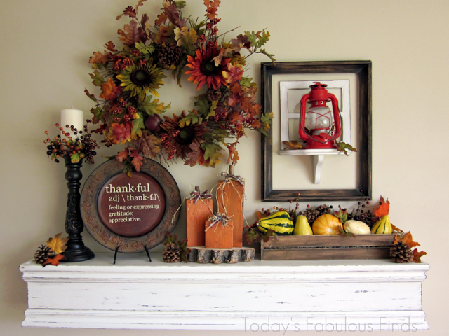 Fall/ThanksgivingMantel
