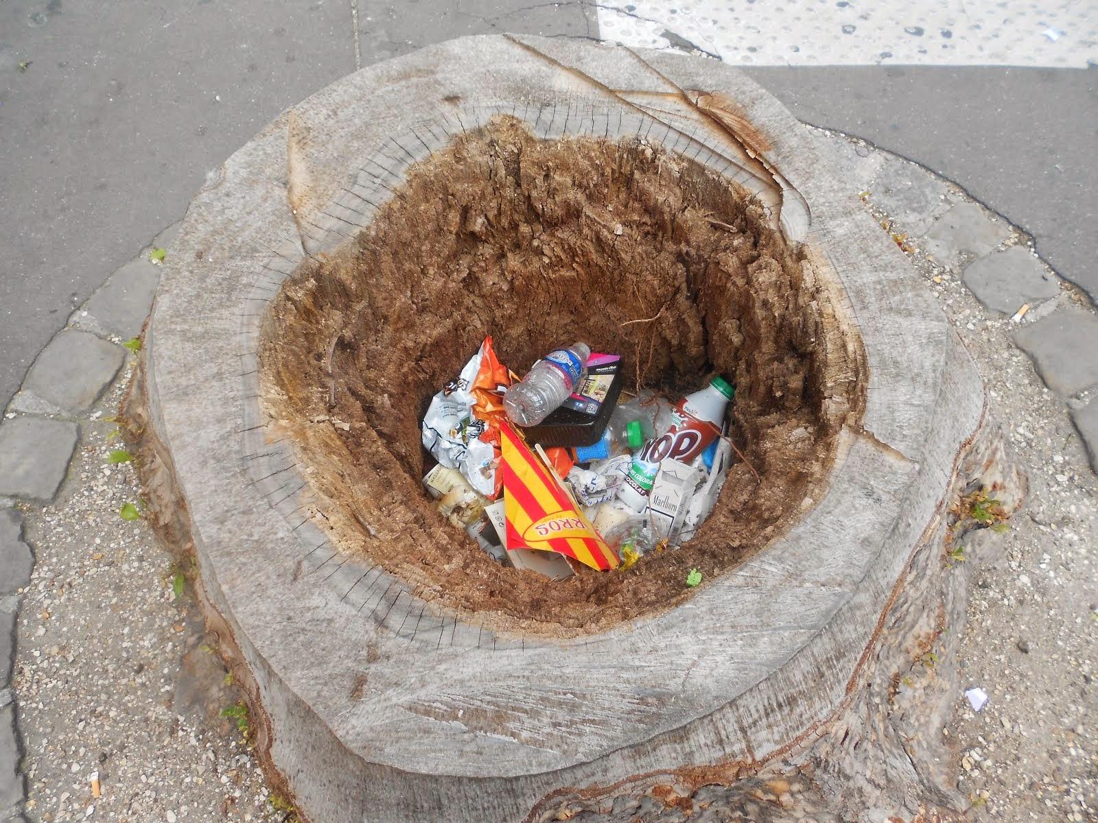 Les déchets a Paris