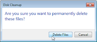 Bersihkan Komputer dengan Disk Clean Up