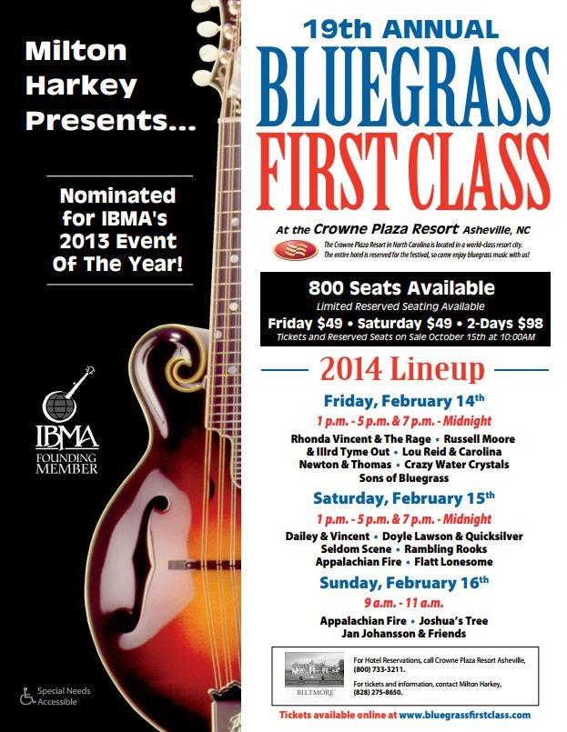 19th Annual Bluegrass First Class Festival