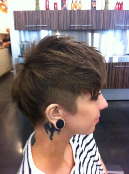 The Pixie Revolution Hot Or Not The Mohawk Fauxhawk On Women