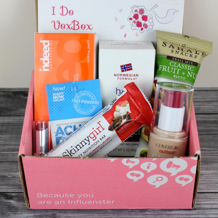 "Review and Unboxing | Influenster ""I Do"" Vox Box #IDoVoxBox"