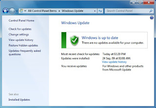 updates for windows