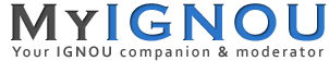 MyIGNOU.IN - IGNOU 2014-15 Solved Assignments, Grade Card, Admission, Results, Hall Tickets, Books