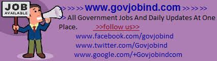 Jobs-Recruitment-GovJobInd -  www.govjobind.com