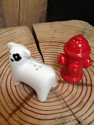 Dog & Hydrant Salt & Pepper