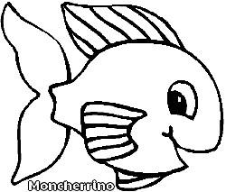 moncherrino desenho para pintar fácil