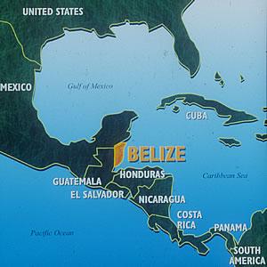 Belize The Drug War HE - Belize tourist map