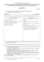 Subiect model educatie vizuala - titularizare 2012