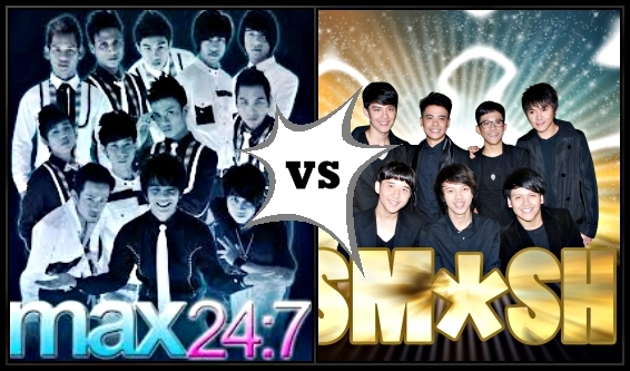 MAX 24 7 VS SMASH(MPOP VS IPOP) MALAYSIA VS INDONESIA
