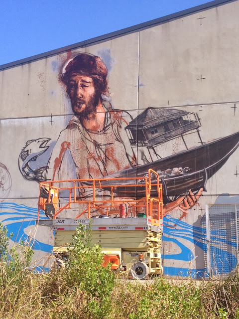 Street Art By Australian Street Artist Fintan Magee On The Streets Of Coffs Harbour, Australia. 2