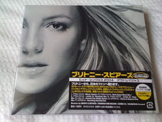 BRITNEY SPEARS / outrageous /JAPAN LTD SLIPCASE NEW