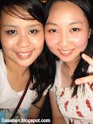 With my blue beach girl!