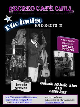 Concierto Latin Jazz.Duo indigo