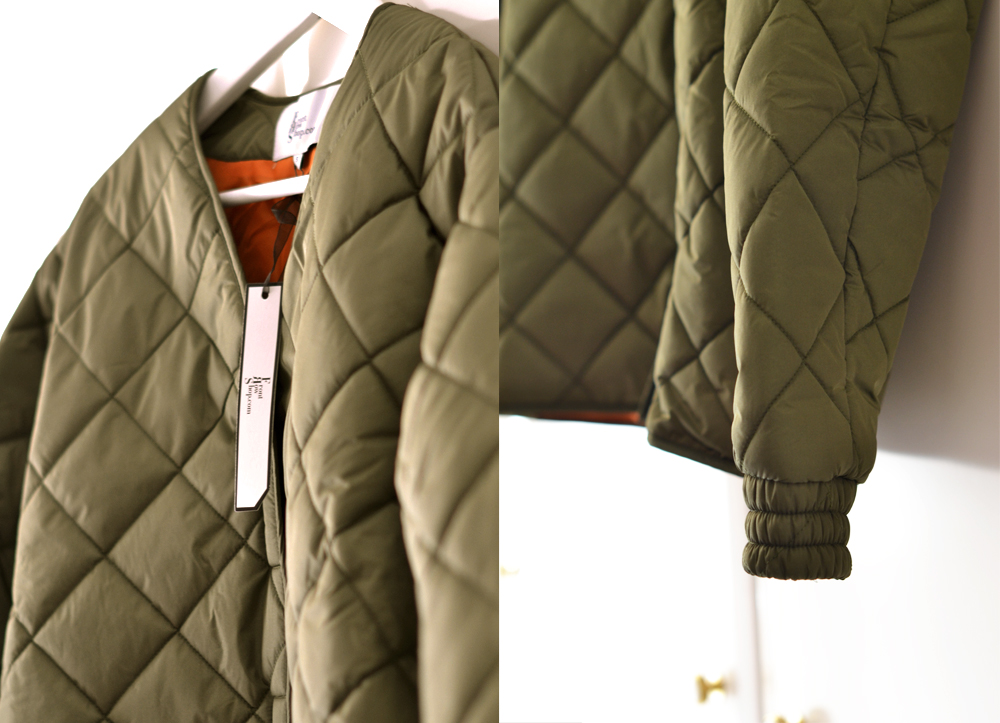 MY ARMY GREEN BOMBER JACKET. QUILTED YEAH. – Style Limelight
