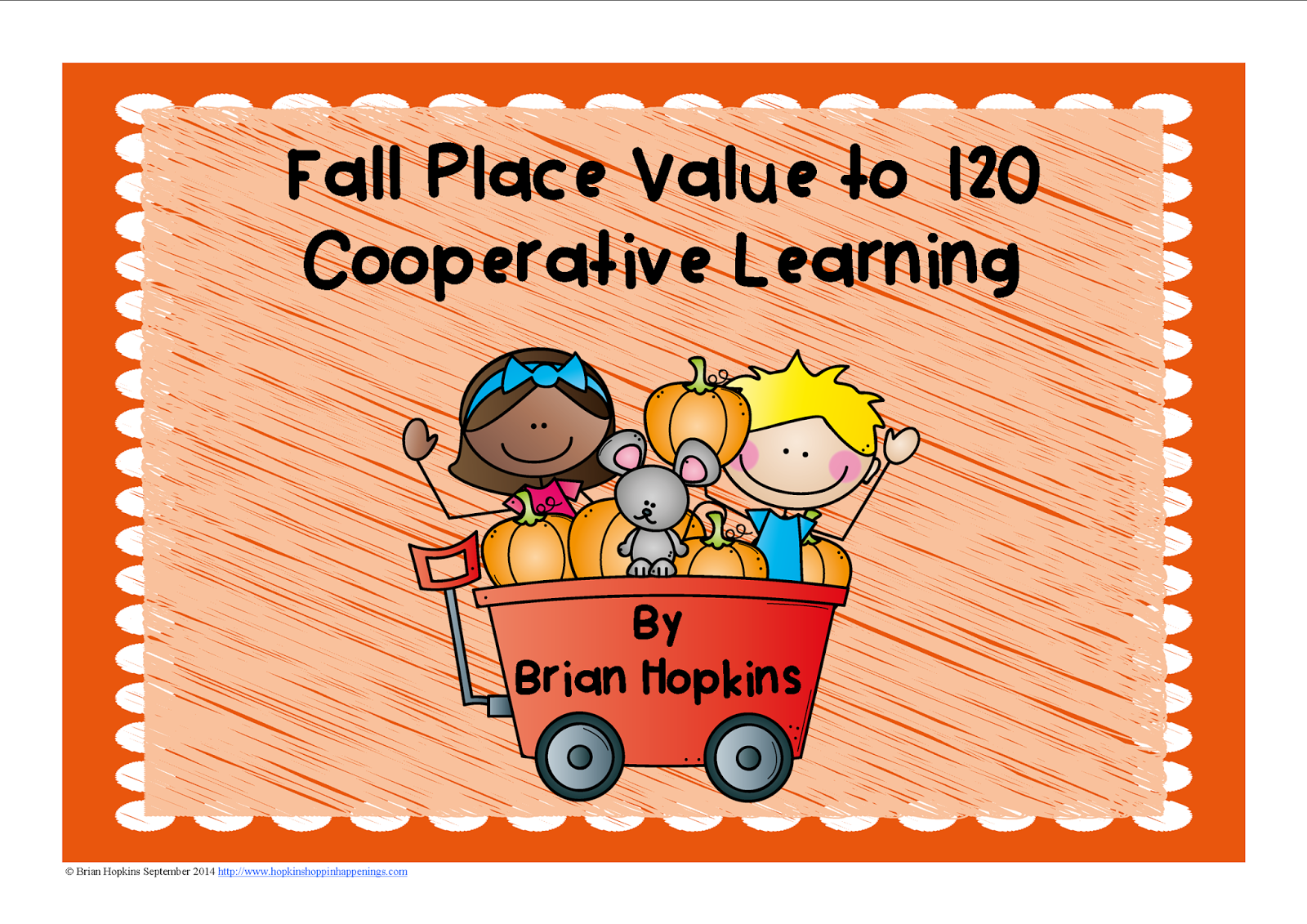 Fall Place Value to 120 Cooperative Learning