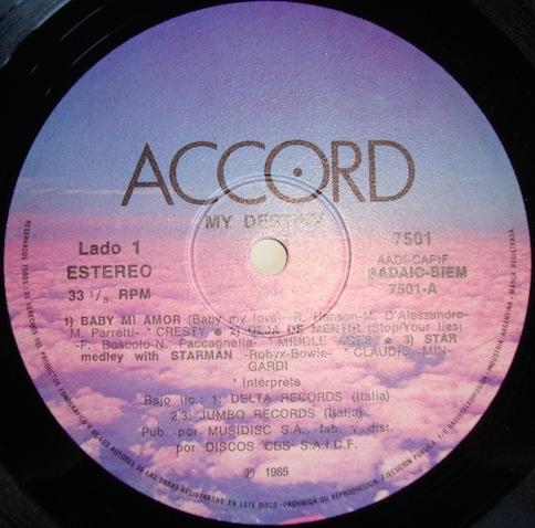 VA - My Destiny (From Argentina Album Limited Edition)