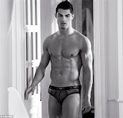 Soccer star Christiano Ronaldo no doubts enjoys showing off his body.