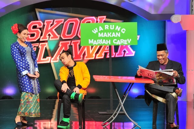LIVE STREAMING SKOOL OF LAWAK 2014 KELAS MINGGU KE2 ASTRO WARNA