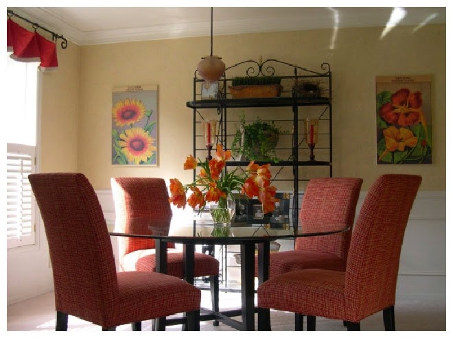 Popular dining room colors 2014