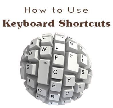 How to use keyboard shosrtcuts by tutorials.achidosti.com