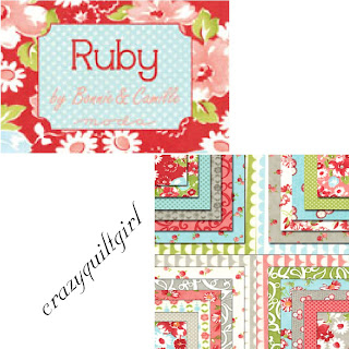 Moda RUBY Quilt Fabric by Bonnie & Camille