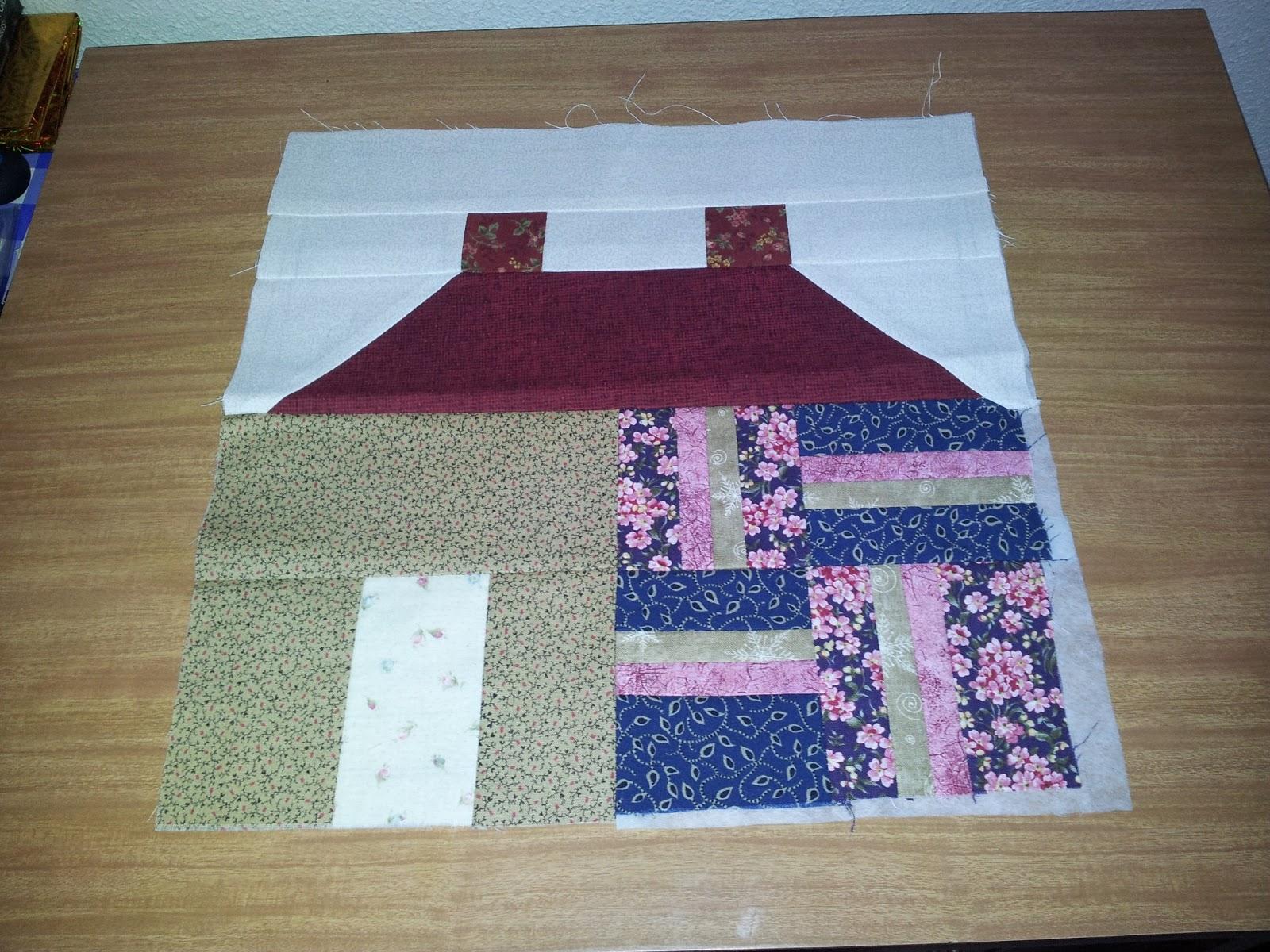 Casa de patchwork 2 de paseo con moni - Casas de patchwork ...
