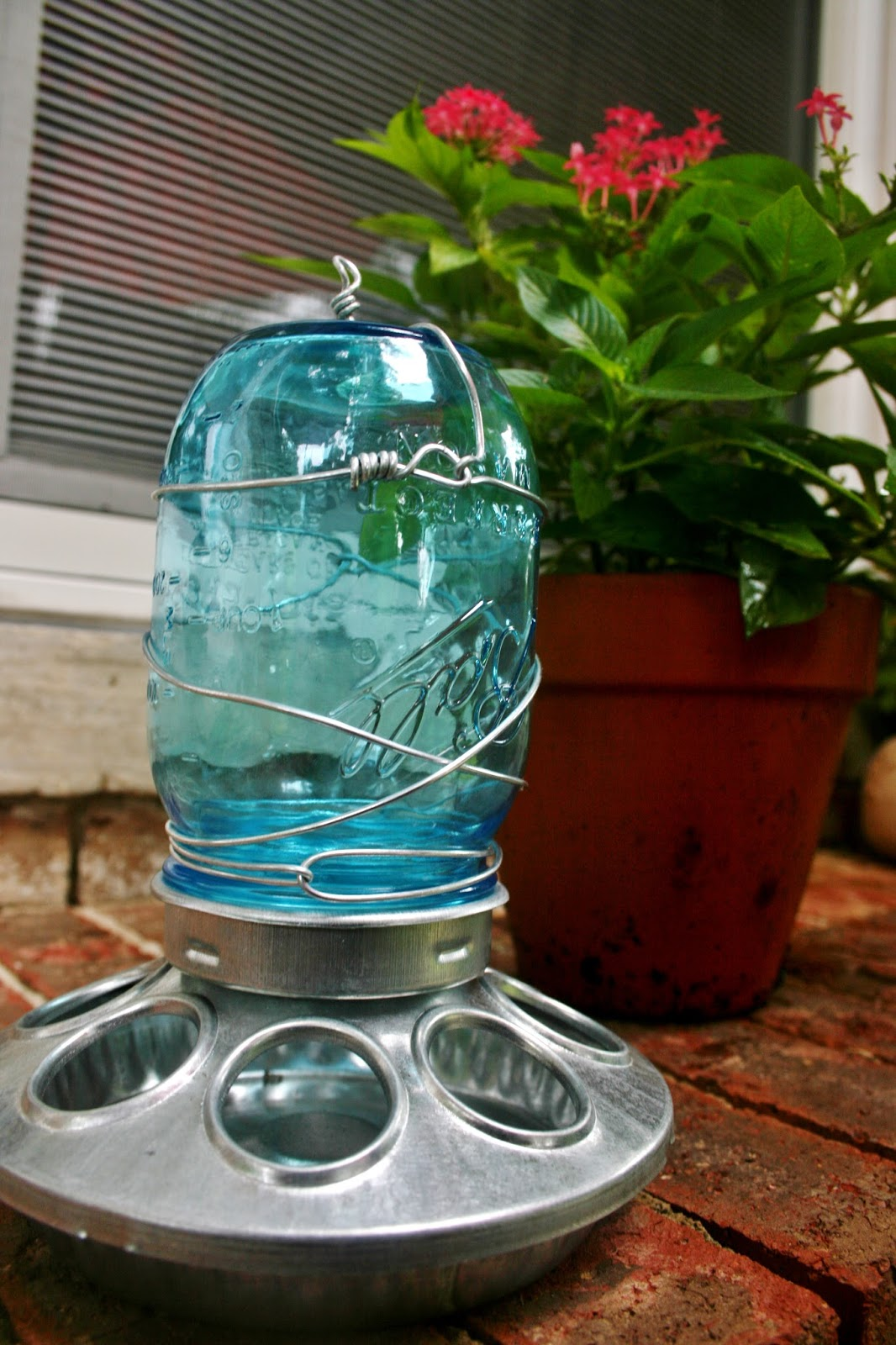 diy crafts how to make a mason jar bird feeder