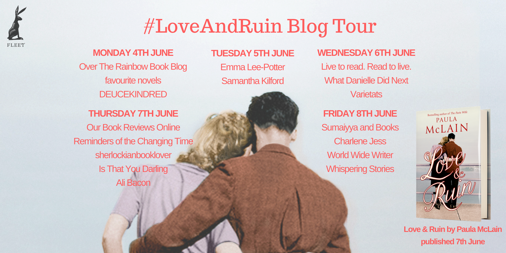 Love and Ruin Blog Tour