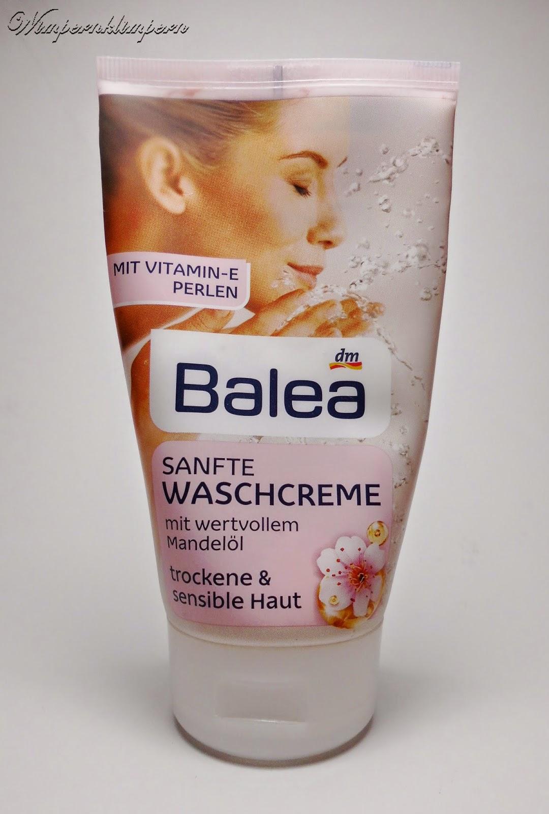Balea sanfte Waschcreme Review Verpackung