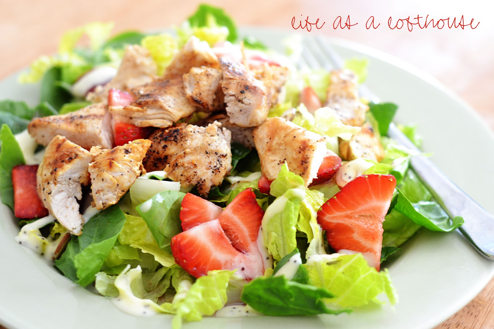 Strawberry Chicken Salad - Life In The Lofthouse